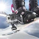 Set de adaptadores de montaje Mantona para GoPro