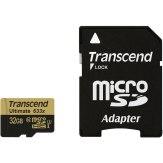 Memoria Transcend MicroSDHC 32GB 633x + Adaptador SD
