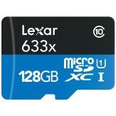 Memoria microSDXC Lexar 128GB 633x UHS-I + Adaptador