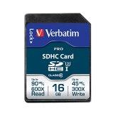 Memoria SDHC Verbatim 16GB Clase 10 90MB/s