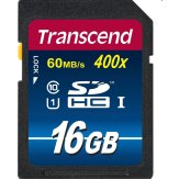 Transcend 16GB SDHC UHS-I Card Class 10