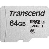 Transcend microSDXC 300S-A 64GB 95MB/s