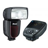 Flash Nissin Di700A + Disparador Commander Air para Nikon