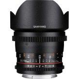 Objetivo Samyang 10mm VDSLR T3.1 NCS CS MKII para Sony E