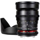 Objetivo Samyang 35mm VDSLR T1.5 AS IF UMC MKII Nikon