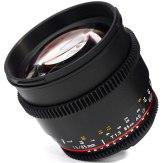 Samyang 85mm T1.5 V-DSLR AS IF UMC Lens Nikon