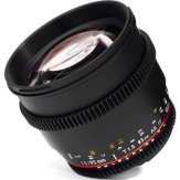 Samyang 85mm T1.5 V-DSLR AS IF UMC Lens Micro 4/3