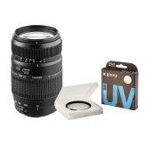 Kit Tamron 70-300mm f/4.0-5.6 Sony A + Gloxy filtro UV