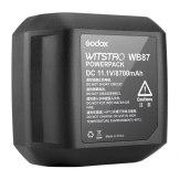 Godox WB87 Batería para Godox AD600