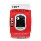Cargador Panasonic DE-A83BA Compatible 2 en 1 Casa y Coche