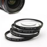 Kit de 4 filtros Close-Up (+1 +2 +4 +10) 62mm