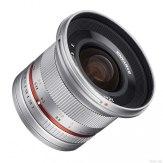 Objetivo Samyang 12mm f/2.0 NCS CS Sony E Plateado