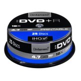 DVD+R Regrabables Intenso 4,7GB 16x 1x25