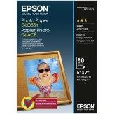 Papel fotográfico Epson Glossy 50 hojas 13x18 cm  200 g