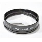 Filter Multi Image Triangle 58mm