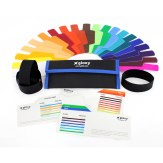 Gloxy GX-G20 20 Coloured Gel Filters for Flashes