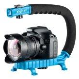 Gloxy Movie Maker light Stabilizer Handle Blue