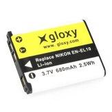Gloxy Batería Pentax D-LI63