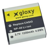 Casio NP-40 Compatible Lithium Battery