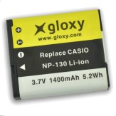 Gloxy Batería Casio NP-130