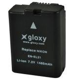 Gloxy Batería Nikon EN-EL21