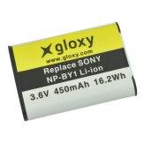 Gloxy Batería Sony NP-BY1