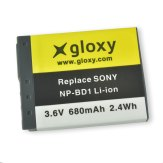 Gloxy Batería Sony NP-FD1