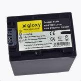 Gloxy Batería Sony NP-FV100