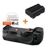 Kit de Empuñadura Gloxy GX-D10 + Batería EN-EL3e