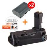Kit de Empuñadura Gloxy GX-E13 + 2 Baterías LP-E6
