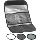Kit de 3 filtros Hoya UV + CPL + NDX8 46mm