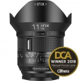 Irix 11mm f/4.0 Firefly Wide Angle lens Canon