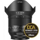 Irix 11mm f/4.0 Blackstone Wide Angle lens Pentax