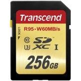 Memoria Transcend Karte SDXC Class 10 UHS-I U3 256GB