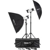 Kit Flash de estudio Priolite M 1000J Bonn