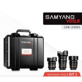 Samyang 14mm, 35mm, 85mm Cinema Lens Kit for Sony