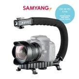 Samyang Fisheye 8mm and Stabilizer Video Kit
