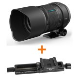 Kit Irix 150mm f/2.8 Macro 1:1 Dragonfly + Rail para macro Genesis GMR-150