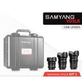 Kit Samyang para Cine 14mm, 24mm, 35mm Sony A