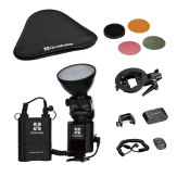Quadralite Reporter 360 TTL Nikon 1-Light Kit Completo
