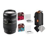 Kit Tamron 70-300mm f/4.0-5.6 DI LD Macro Nikon