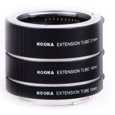 Kit tubos de extensión para Sony 10mm, 16mm, 21mm