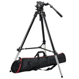 Kit Trípode Vídeo Manfrotto 528XB + Cabezal 526 + Bolsa