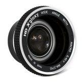 Gloxy 37mm Wide Angle 0.45X Macro Lens Silver
