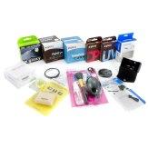 Kit completo de lentes y filtros