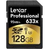 Memoria Lexar SDXC 128GB 633x Professional