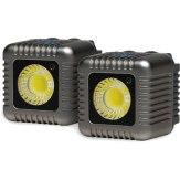 Antorchas LED Lume Cube Kit de x2 Gris
