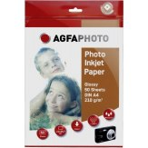 Papel fotográfico AgfaPhoto Glossy A4  210 g 50 ud.