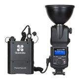 Kit de iluminación profesional Quadralite Reporter 180