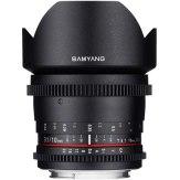 Objetivo Samyang 10mm VDSLR T3.1 NCS CS para Canon MKII